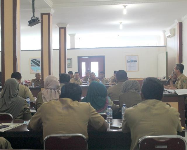 Pemkab Rohil Bahas Program Prioritas Pembangunan di Lintas SKPD