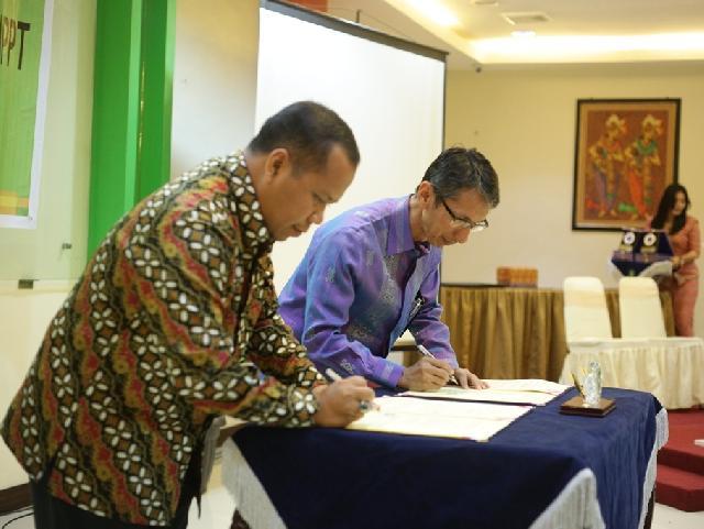 Pemda Kepulauan Meranti MoU Dengan PT Garuda Indonesia Airlines