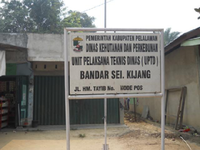 Parah, Kepala UPTD Dishutbun & Disnak di Teluk Meranti Tidak Pernah Ngantor