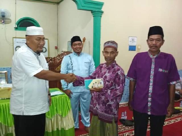 Tim Safari Ramadhan Inhu Santuni Mesjid Abda,ul Hidayah Lembah Dusun Gading Air Molek
