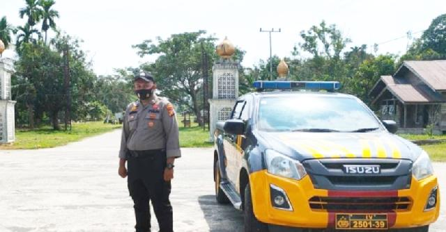 Gelar Patroli Blue Light, Kapolsek: Situasi di Rangsang Barat Aman dan Terkendali