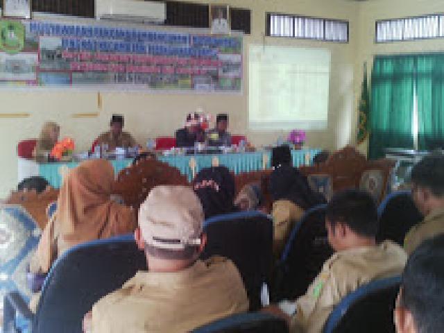 Musrembang Kecamatan Tebingtinggi Meranti Usulkan Pembangunan Fisik