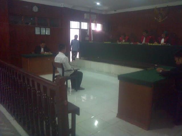 Terdakwa Pembunuh Dua PK Divonis Seumur Hidup Oleh PN Bangkinang