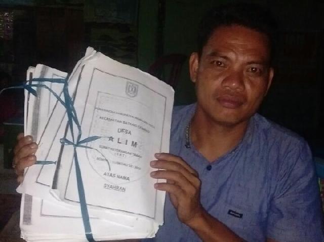 Masyarakat Ancam Duduki Lahan, Ratusan Haktar Lahan Desa Alim Diserobot PT Tasma Puja