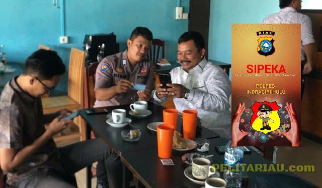 Catet Manfaatnya, DPRD Inhu Apresiasi Layanan Online 'SIPEKA' Polres Inhu