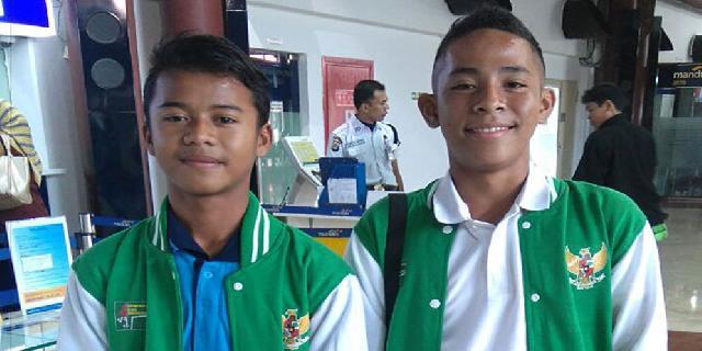 Syukran dan Andrian Pesepakbola Muda Indonesia Dapat Beasiswa Berlatih di Spanyol