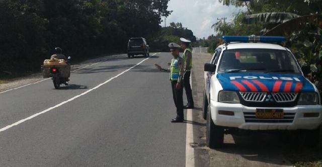 Mantap: Sat Lantas Polres Pelalawan Buat Inovasi Patroli Rayonisasi