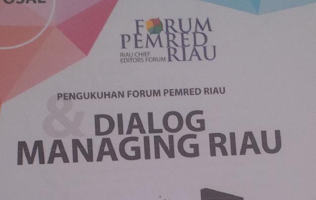 Audiensi Dengan Gubri, Andi Rachman Dukung Eksistensi Forum Pemred Riau