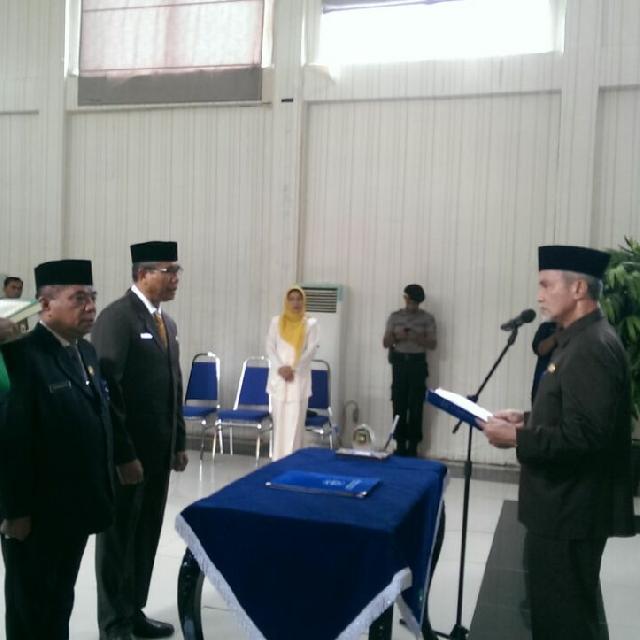 Wakil Bupati Meranti Lantik Ir Anwar Zainal Yang Sebelumya Menjabat Asisten II