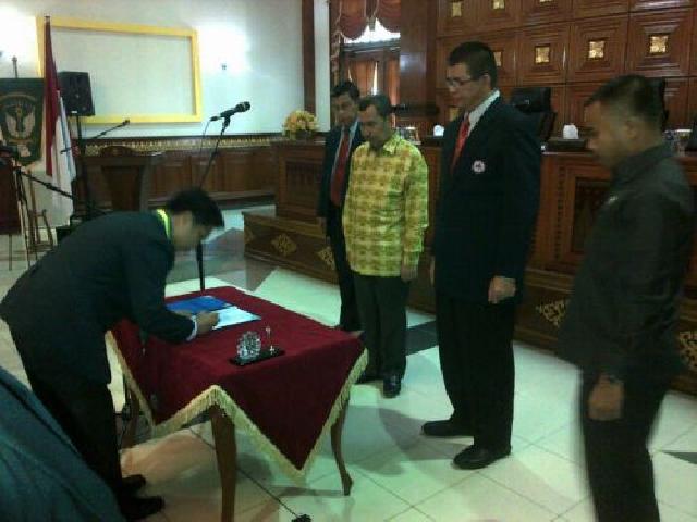 IDI Siak Periode 2014-2017 Resmi Dipimpin dr Beny Chairuddin SpAn
