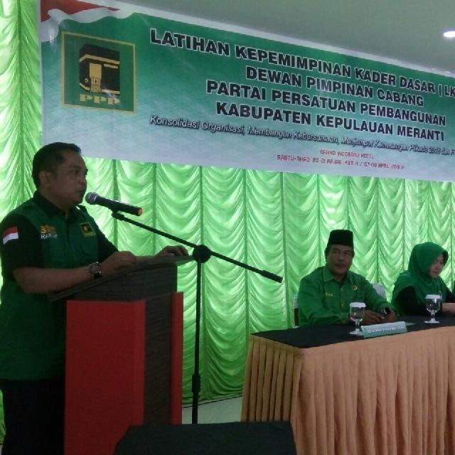 LKKD DPC PPP Kabupaten Meranti Di Buka Secara Resmi