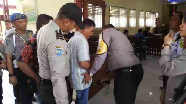 Sidang Perdana Kasus Bandar Narkoba, Alex Digelar Di PN Rengat