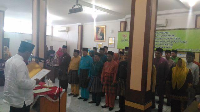 UPZ Dilantik, Bupati Suyatno Ajak SKPD Berzakat