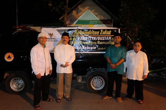 Selesai Safari Ramadhan, Sekda Kunjungi Kantor BAZnas Inhil Tinjau Kesiapan Zakat