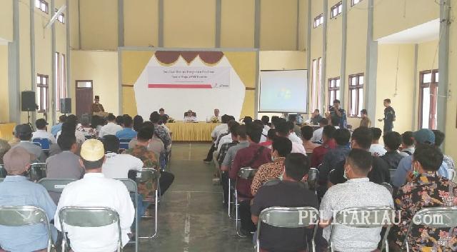 Dukung Pengeboran Bingo , Pemkab Pelalawan Lakukan Sosialisasi bersama PHE Kampar