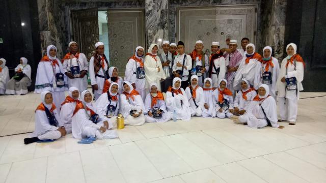 81Jemaah Calon Haji Meranti Telah Usai Laksanakan Seluruh Rangkaian Ibadah Haji