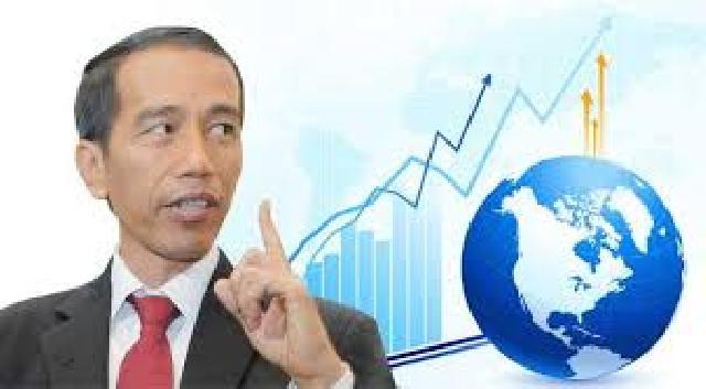 Presiden Klaim Pertumbuhan Ekonomi Indonesia Tertinggi Ketiga di Dunia