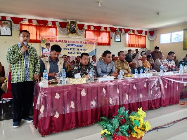 Pemkab Inhu Turun Gunung Jemput Aspirasi  Melalui Musrenbang di Kecamatan