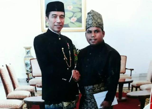 Luar Biasa, Warga Inhil Ini Diundang Presiden Jokowi ke Istana Negara