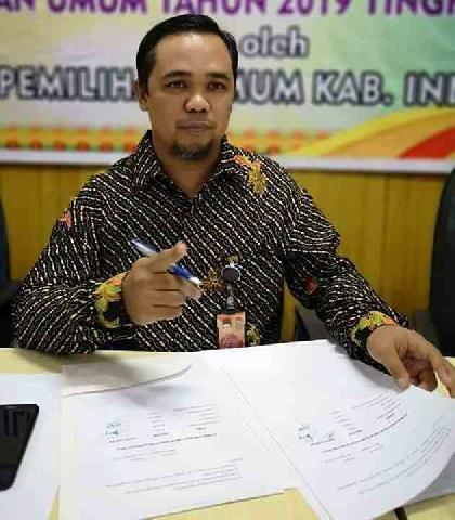 KPU Inhu Akan Serahkan Hasil DPTHP Dengan Peserta Pemilu
