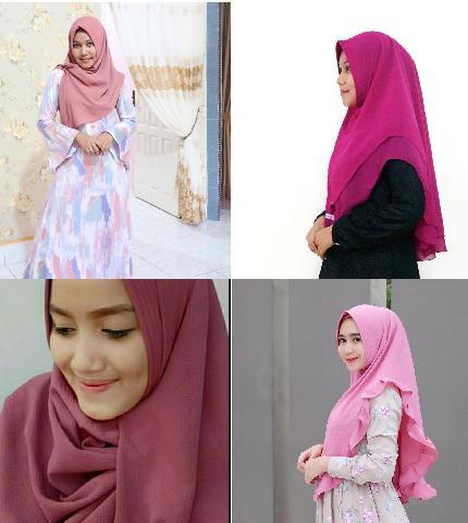 Hijab Honorer di Siak Ini Merambah Pasar Manca Negara
