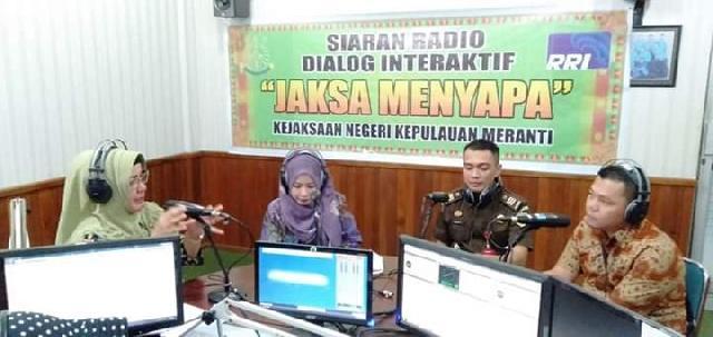 Dinas Sosial Meranti Dialog Interaktif Dan Sampaikan Sanksi Hukum Bagi Pelaku KDRT