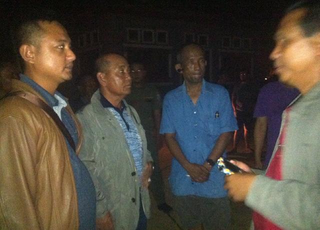 Bupati Harris Langsung Tinjau Kebakaran Kantor Disdik Pelalawan
