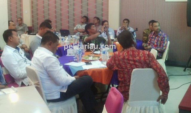 4 KPU Kabupaten Kota di Riau Bahas Tahapan Pilkada di Meranti
