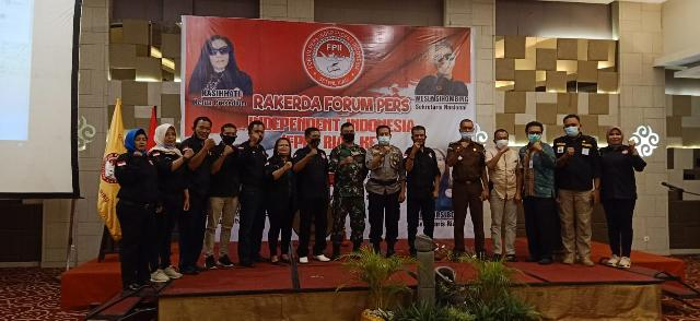 Evaluasi Kinerja, FPII Provinsi Riau Adakan RAKERDA Perdana