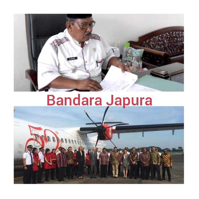 Camat Lirik, Wings Air Buka Rute Di Bandara Japura