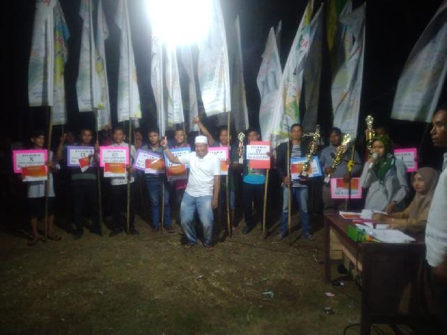 Ini Dia Para Pemenang Festival Pacu Sampan Jalur Rayon II  Ditopian Sialang Lotung