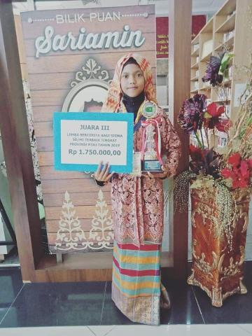 Siswa SDN 002 Air Molek Harumkan Inhu di Ajang Lomba Bercerita Se Riau
