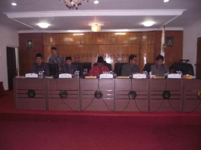 Alat Kelengkapan Dewan DPRD Rohil Diumumkan dan Ditetapkan