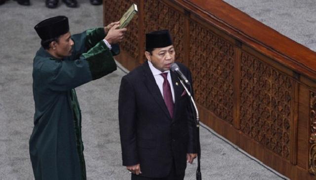 Setnov Ketua DPR Janji Bakal Jalankan Amanat Rakyat