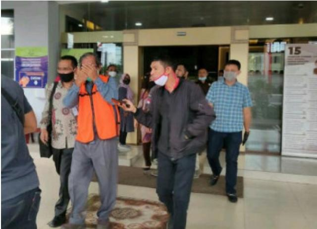 Penahanan Mantan Dirut PT PER Dipindahkan ke Rutan Pekanbaru