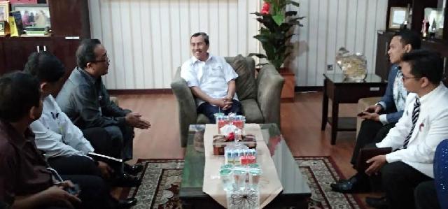 Kunjungan Silaturahmi Pimpinan BPJS Kesehatan, Ini Kata Bupati Syamsuar