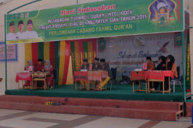 Tim Fahmil Qur'an Meranti Tembus Final