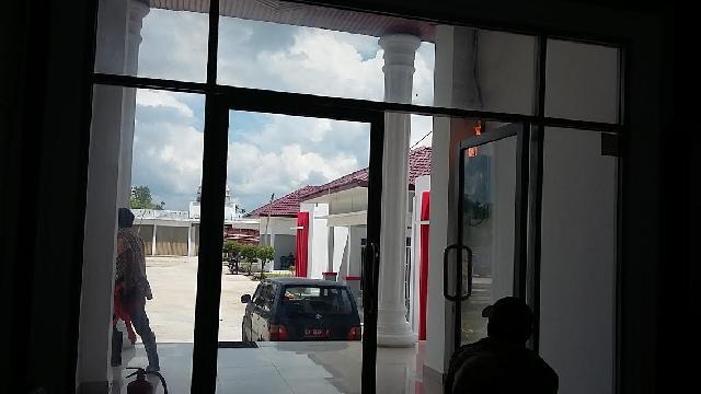 Akibat Konsleting Meteran PLN, Kantor Kejari Rohil Nyaris Terbakar