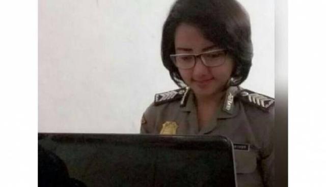 Polwan Cantik Pimpin Pasukan Anticabul di Lampung