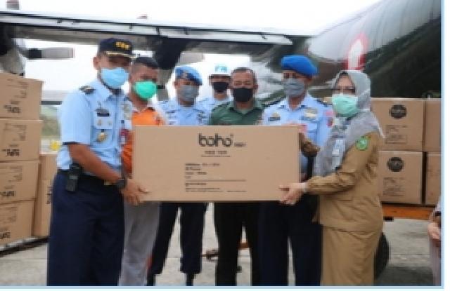 Sore Ini Diserahkan Gubri, Bantuan APD dari Pusat Untuk Riau Sudah Tiba