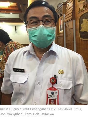 Pemprov Jatim: PSBB Surabaya Raya Ada Hasil, Corona di Gresik dan Sidoarjo Turun