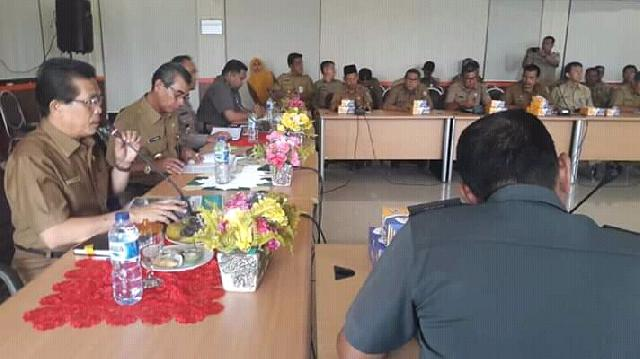 Bupati Mursini Tetapkan Status Darurat Bencana Banjir Di Kuansing