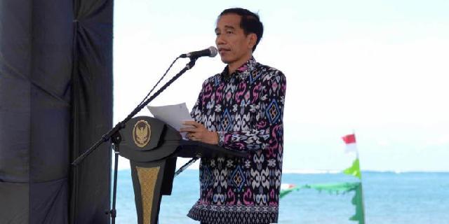 Jokowi Sindir Stasiun TV yang Tayangkan Lagu Nasional Tengah Malam