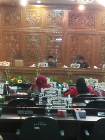 Sidang Paripurna DPRD Kuansing Pandangan Fraksi Fraksi Terhadap Ranperda Aset Milik Daerah Kuansing