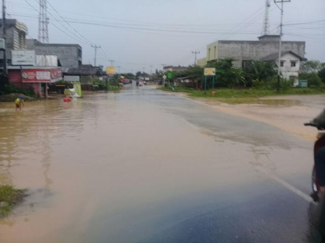 Untuk Kedua Kalinya, Pematang Reba Terendam Banjir