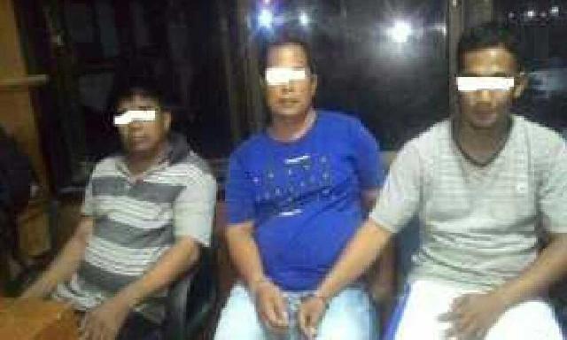 Diduga Pesta Shabu, Kades di Meranti ditangkap Polisi