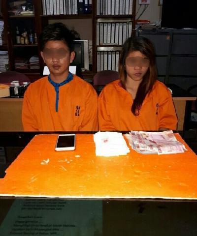 Transaksi Narkoba, Wanita Cantik di Tembilahan Keok Ditangkap Polisi