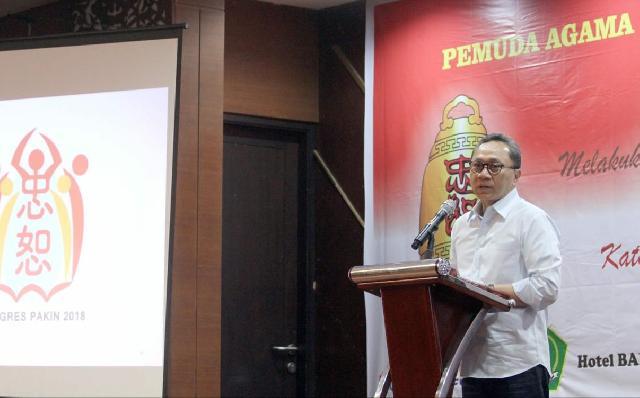 Ketua MPR : PAKIN Harus Optimistis di Tahun Politik