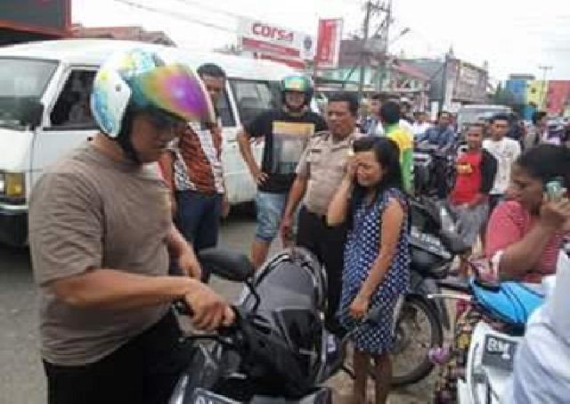 Diduga Kurir Narkoba di Inhu, Wanita Ini Ditangkap Polisi