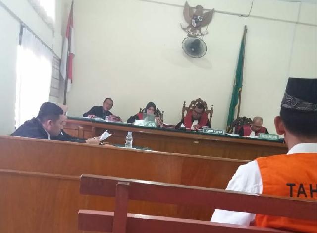 Agus Salim Menunggu Keadilan di Putusan Sela, PH dan JPU Saling Tolak